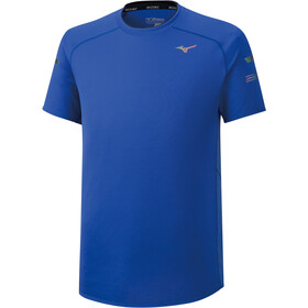 Mizuno Solarcut T-Shirt Homme, dazzling blue